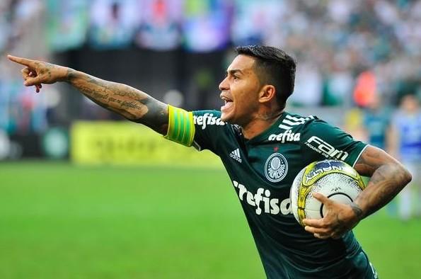 Dudu, capitão do Palmeiras.
