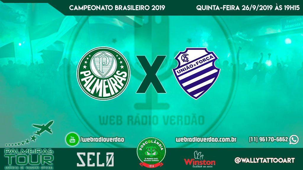 AO VIVO - Palmeiras x CSA - Brasileiro 2019 - 21ª rodada - Transmissão direto do Pacaembu