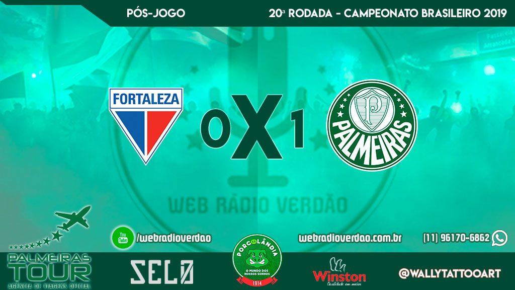 Pós-jogo Fortaleza 0 x 1 Palmeiras - Brasileiro 2019 - 20ª rodada - Coletiva de Mano Menezes