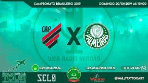 AO VIVO - Atlético PR x Palmeiras - Brasileiro 2019 - 27ª rodada - Transmissão na Porcolândia 1914