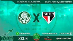 AO VIVO - Palmeiras x São Paulo - Campeonato Brasileiro 2019 - 29 rodada - Allianz Parque