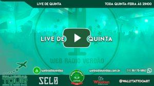 Live de Quinta - Web Rádio Verdão