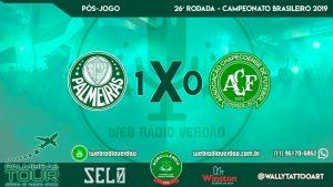 Pós-jogo Palmeiras 1 x 0 Chapecoense - 26. rodada Brasileiro 2019 - Allianz Parque