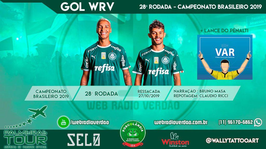 Veja os gols do Palmeiras contra o Avaí