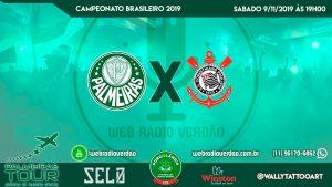 AO VIVO - Palmeiras x Corinthians - Brasileiro 2019 - 32 rodada - Pacaembu - Transmissão