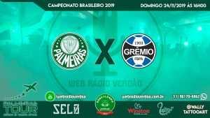 AO VIVO - Palmeiras x Grêmio - Brasileiro 2019 - Allianz Parque - 34 rodada