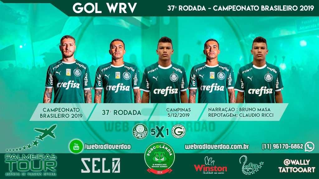 Gabriel Veron marca 2 vezes e Palmeiras goleia Goiás em Campinas