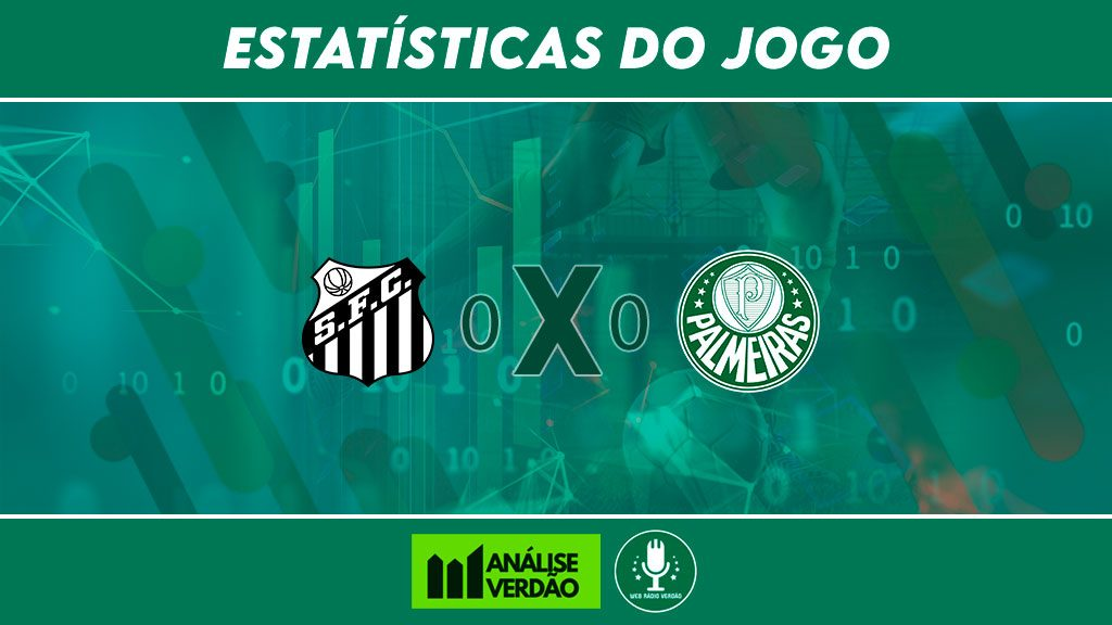 Estatísticas de Santos 0x0 Palmeiras