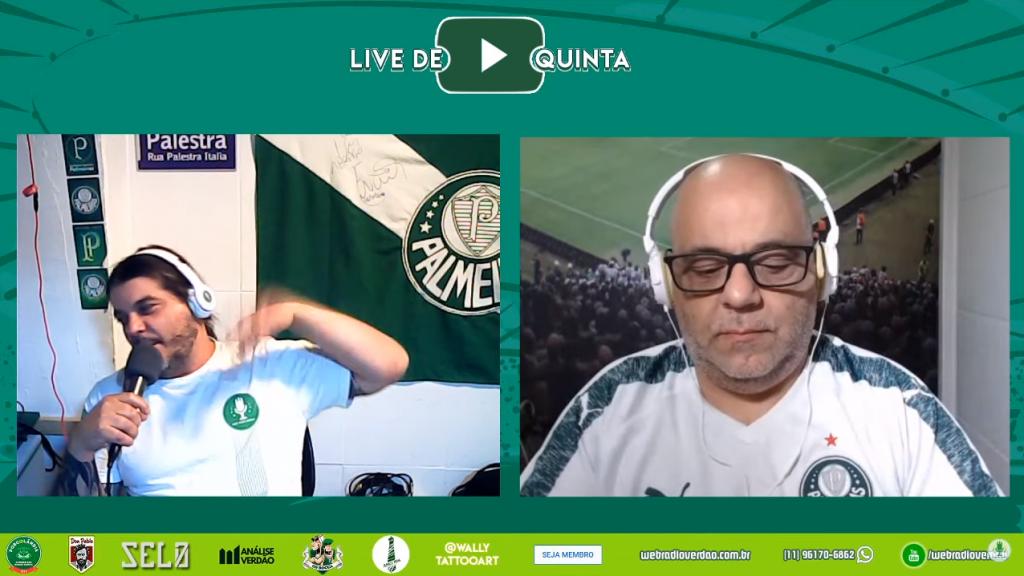 Live de Quinta - Coroas Vírus
