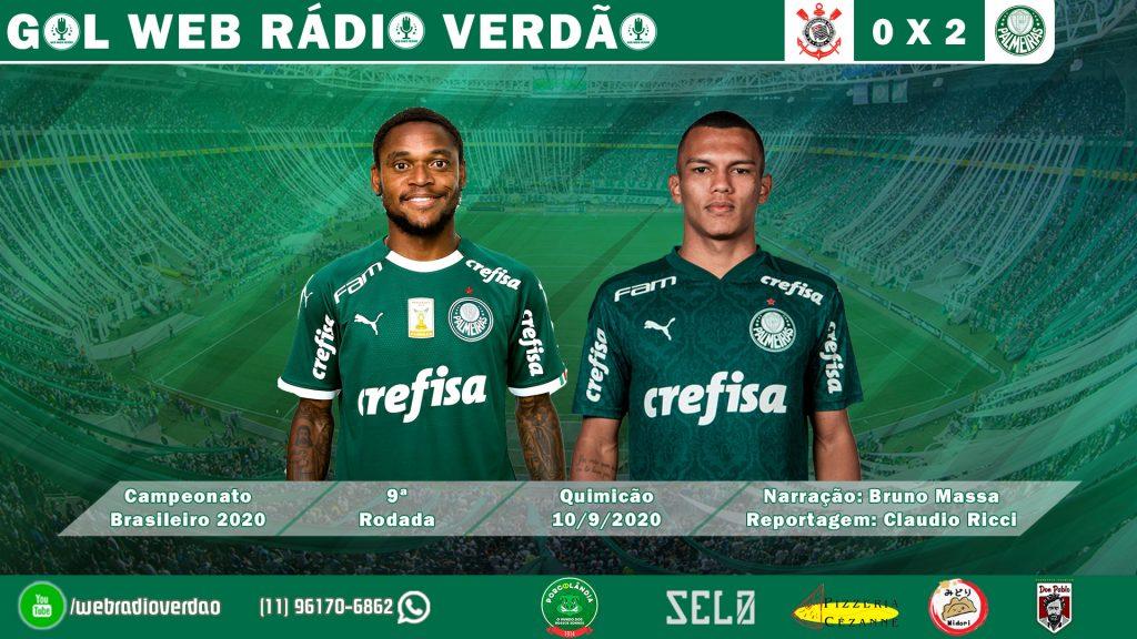 Gols de Luiz Adriano e Gabriel Veron - Corinthians 0x2 Palmeiras