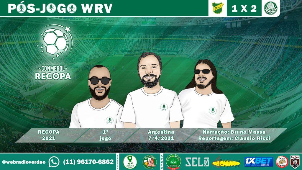 Pós-jogo Defensa y Justicia 1x2 Palmeiras - Recopa 2021
