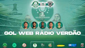 Rony, L Adriano, Patrick, Danilo Barbosa - Palmeiras 5x0 Independiente Del Valle - Libertadores 2021
