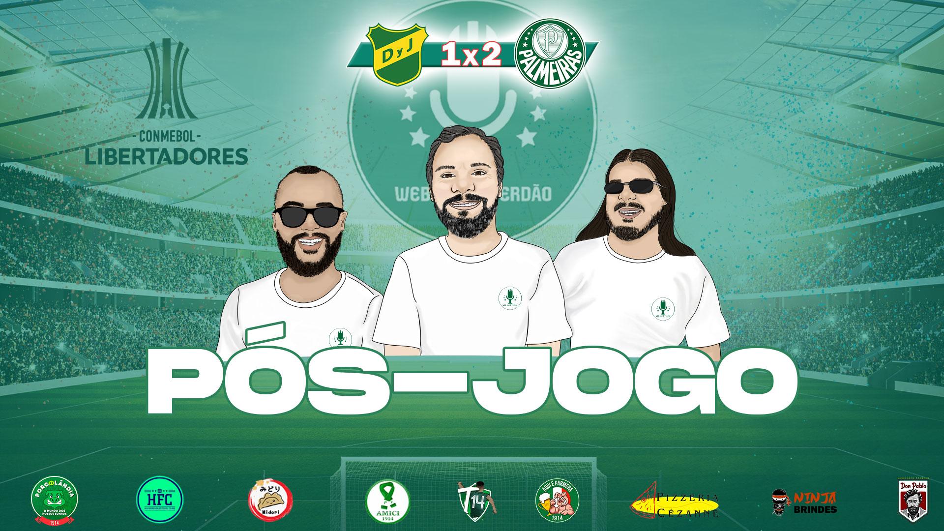 Pós-jogo - Defensa y Justicia 1x2 Palmeiras - Libertadores 2021 - Web Rádio Verdão