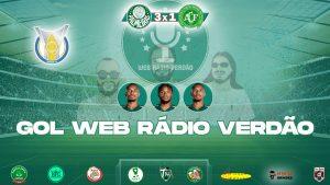 Gols Palmeiras 3x1 Chapecoense - Campeonato Brasileiro 2021 - Web Rádio Verdão