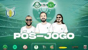 Pós-jogo Palmeiras 3x1 Chapecoense - Campeonato Brasileiro 2021 - Web Rádio Verdão